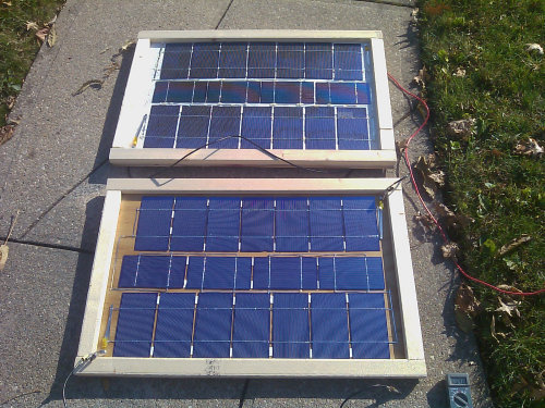 How to make solar panels on a budget